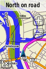 Japan map  UUD  Japan GPS Navigation and Topographic Map for Garmin