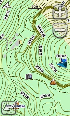 Topographic UUD Japan GPS Navigation And Topographic Map For - Japan map garmin